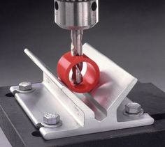 Center It drill Jig - need to just make this out of wood next time I need it - or before!
