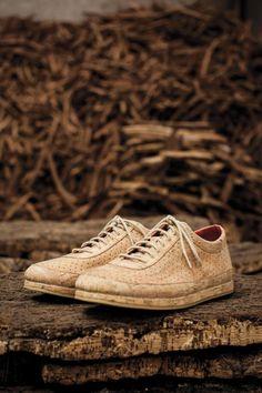 Cork Shoe by Jasper Morrison. Photography © Pedro Sadio & Maria Rita. Courtesy of experimentadesign. Click above to see larger image.