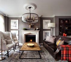 Таунхаус в английском стиле в Канаде | Пуфик - блог о дизайне интерьера