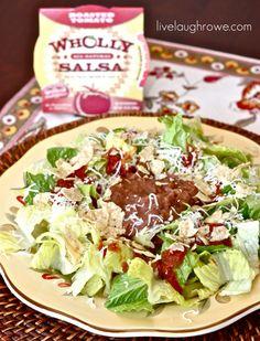 Taco Salad @livelaughrowe. #recipe