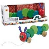 The Very Hungry Caterpillar Wooden Pull Along Toy