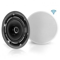 Pyle - Dual inch In-Wall / In-Ceiling Bluetooth Speaker System - Full Range Stereo Speakers with Wireless Streaming Ability, Home Speakers, Stereo Speakers, Bluetooth, Home Theater Subwoofer, Passive Speaker, Antique Radio, Speaker System, Electronics Gadgets