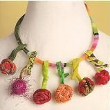 Fabric art and jewelry - Google Search