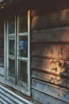 old windows, wooden siding, peaking light Over The Garden Wall, Cabins In The Woods, Light And Shadow, Bushcraft, Survival, In This Moment, Rustic, Inspiration, Lights