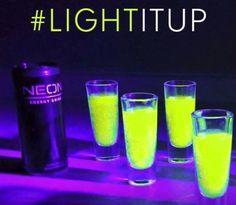 Neon Energy Drink The Healthy Alternative Energy Drink!