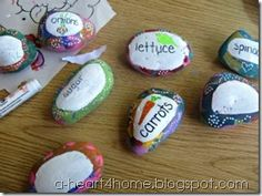 Painted Garden Markers {Finished Friday} come and link up your ...
