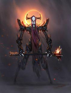 Demon lord by Konstantin-Vavilov on DeviantArt