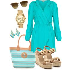 Day Date by famous on Polyvore featuring polyvore fashion style Love Tory Burch Michael Kors Kendra Scott Ray-Ban
