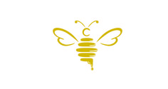 I chose this as a representation of the charity being in Manchester as bees represent Manchester as a whole showing (coming together) in which bees do. This is also a good representation as bees then to 'thrive' when their together. Bee Design, Logo Design, Graphic Design, Honey Bee Tattoo, Bumble Bee Tattoo, Logo Bee, Honey Logo, Honey Label, Honey Packaging