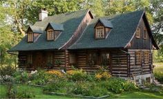 Sharing my obsessive love of rustic cabin life through photos and art I have collected. Cozy Cabin, Cozy Cottage, Cozy House, Cottage Style, Log Cabin Living, Log Cabin Homes, Log Cabins, Prefab Cabins, Prefab Homes