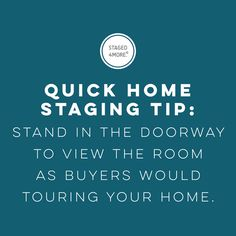 Home staging tip || Staged4more Home Staging & Design
