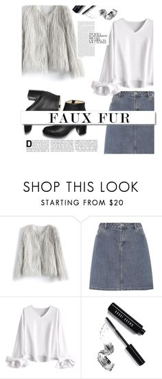 """""""Untitled #253"""" by livingonvee on Polyvore featuring Chicwish, A.P.C., White Label and Bobbi Brown Cosmetics"""