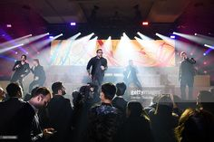 Backstreet Boys perform at a private show at Caesars Palace in Las Vegas on New Year's Eve December 31, 2016 in Las Vegas, Nevada.