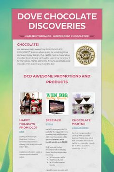 Dove chocolate discoveries products - photo#15