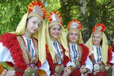 Tradycyjny strój macedoński z okolic Marinowa