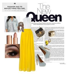 """""""Golden Queen"""" by kelly-boo-1 on Polyvore featuring Chloé, Alexander Wang, Salvatore Ferragamo, Torrid, Jeffrey Campbell, Charlotte Tilbury, women's clothing, women's fashion, women and female"""