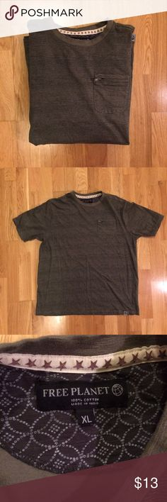 Free Planet tee ✌️ Perfect condition! Zero flaws! free planet  Shirts Tees - Short Sleeve