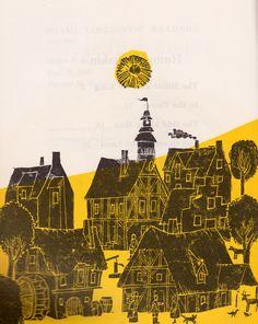 my vintage book collection (in blog form).: Rumpelstiltskin - illustrated by Eric Carle