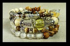 46# Memory Bracelet gypsy style. 4 rows