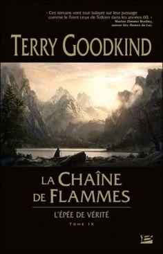 Couverture de L'Épée de Vérité, tome 9 : La Chaîne de Flammes