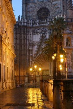 Seville, Spain...the most beautiful cathedral I've ever seen!!