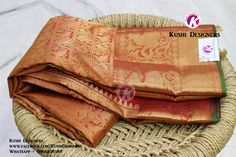 Exclusive Kanchi Pattu sarees, More Traditional Color Shades from Kushi Designers !! Material - Kanchi pattu, Delivery time 2 to 3 business days Interested ? Mail us kushidesigners@gmail.com / Whatsapp 9866108589