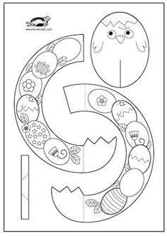 Easter Wreaths + templates | krokotak