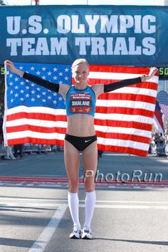 Shalane Flanagan's Olympic trial motto: Cold Execution. Love it.