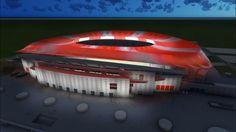El nuevo estadio del Atlético será un espectáculo de luz y color