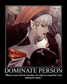 Dominate Person posted by The Tygre
