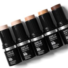 // ριntєrєѕt: ṃιατεℓℓαx //  Make Up For Ever Ultra HD Stick Foundation (New shades)