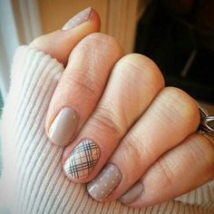 Upper East Side, white polka & Barely there nail lacquer