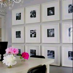 Another Fabulous Wall Grouping Site Says Those Are Ikea Frames Image From Decor Pad