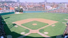 """Today in the Reds beat the Giants in the final game played at Crosley Field. Cincinnati Reds Baseball, Baseball Park, Baseball Cleats, Sports Baseball, Baseball Field, Sports Teams, Mlb Stadiums, Fantasy Baseball, Baseball Uniforms"