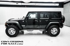 Used 2014 Jeep Wrangler Unlimited Rubicon Lifted