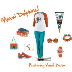 """Miami Dolphins Vault Denim"""