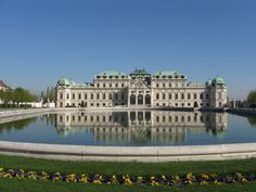 Belvedere Palace - Vienna is yet another one of those pretty, classical, Baroque cities that are so common in that region of the world; but Vienna does it even better than most. Description from holidaybackpack.com. I searched for this on bing.com/images