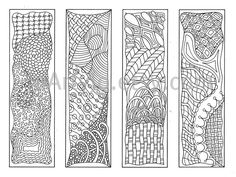 Printable bookmarks to color...great to give students on the first ...