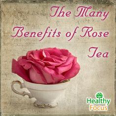 Otherwise known as rose bud tea, rose tea is a very healthy not to mention delicious beverage made from either dehydrated or fresh rose petals. The healing powers of rose petals have been known for centuries and today they are used to make therapeutic essential oils as well as being enjoyed as a nutritious tea.