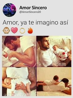 Couple With Baby, Love Of My Live, Frases Love, Cute Love Memes, Miraculous Ladybug Memes, Love Phrases, Spanish Quotes, Spanish Memes, Pretty Quotes
