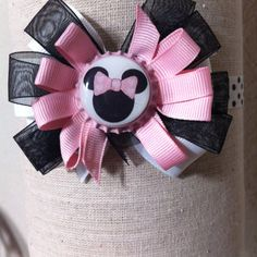 Minnie Mouse Bottle Cap: baby headband!