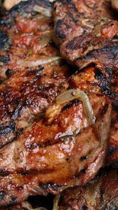 Grilled Chipotle Pork Chops