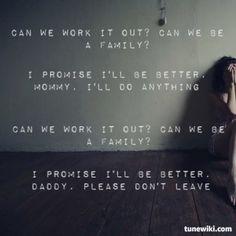 P!nk - Family Portrait   #Pink #song #lyrics