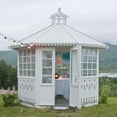 Pergola Ideas For Patio Info: 1464813309 Gazebo Pergola, Hot Tub Gazebo, Steel Pergola, Patio Roof, Pergola Kits, Outdoor Rooms, Outdoor Gardens, Outdoor Living, Garden Buildings