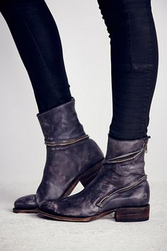 Faryl Robin + Free People Essential Zipper Ankle Boot at Free People Clothing Boutique