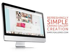 Use the Simply Galleries website to see exactly what your photos will look like on your walls, at the right size, before you ever spend a single dime or drive a single nail!  www.simplygalleries.com