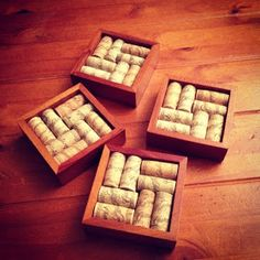 Post-Grad Crafting: Wine Cork Coasters!