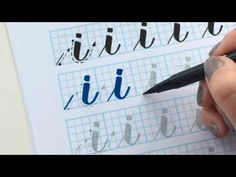 Don't begin with A B C! Learn how to write the alphabet with a brush pen in the correct order to maximize success. I explain the basic drills and the first l...