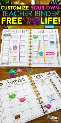 206 best lesson plan templates teacher binders images on.html
