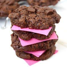 Flourless Chocolate Chip Pecan Cookies